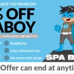 50% of spa boy super special!