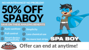 50% of spaboy super special!