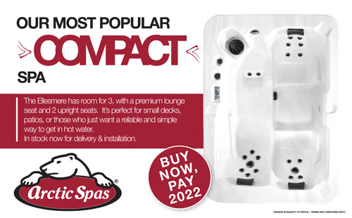 the popular compact spa – ellesmere!